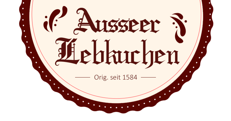 Ausseer Lebkuchen - Logo